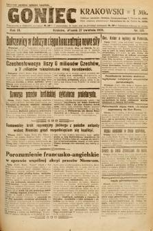 Goniec Krakowski. 1920, nr115