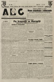 ABC : pismo codzienne : informuje wszystkich o wszystkiem. 1934, nr281  PDF 