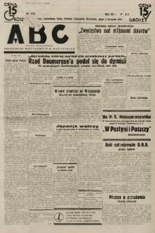 ABC : pismo codzienne : informuje wszystkich o wszystkiem. 1934, nr313  PDF 