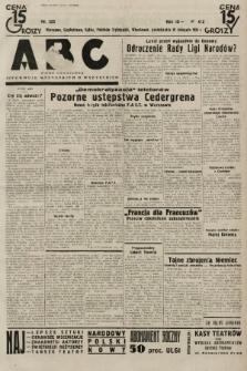 ABC : pismo codzienne : informuje wszystkich o wszystkiem. 1934, nr323 |PDF|