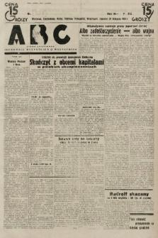 ABC : pismo codzienne : informuje wszystkich o wszystkiem. 1934, nr[327] [ocenzurowany] |PDF|