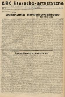 ABC Literacko-Artystyczne : stały dodatek tygodniowy. 1934, nr22  PDF 