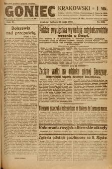 Goniec Krakowski. 1920, nr139