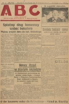 ABC : pismo codzienne : informuje wszystkich o wszystkiem. 1926, nr4 |PDF|
