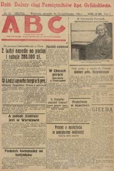 ABC : pismo codzienne : informuje wszystkich o wszystkiem. 1926, nr21 |PDF|