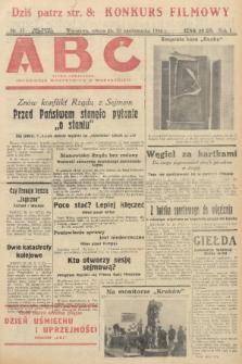 ABC : pismo codzienne : informuje wszystkich o wszystkiem. 1926, nr37 |PDF|