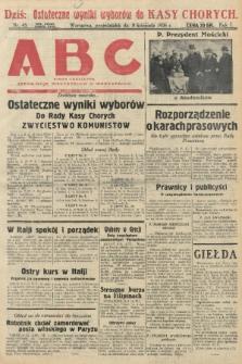 ABC : pismo codzienne : informuje wszystkich o wszystkiem. 1926, nr45  PDF 