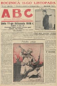 ABC : pismo codzienne : informuje wszystkich o wszystkiem. 1926, nr48 |PDF|