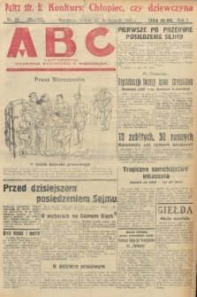 ABC : pismo codzienne : informuje wszystkich o wszystkiem. 1926, nr53 |PDF|