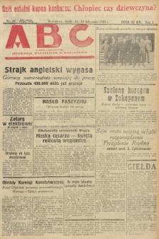 ABC : pismo codzienne : informuje wszystkich o wszystkiem. 1926, nr61  PDF 