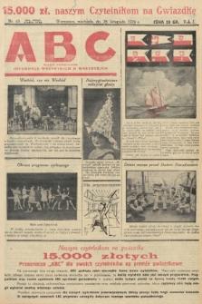 ABC : pismo codzienne : informuje wszystkich o wszystkiem. 1926, nr65 |PDF|