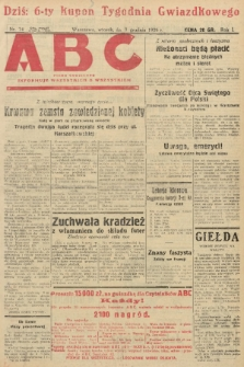 ABC : pismo codzienne : informuje wszystkich o wszystkiem. 1926, nr74 |PDF|