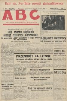 ABC : pismo codzienne : informuje wszystkich o wszystkiem. 1926, nr87 |PDF|