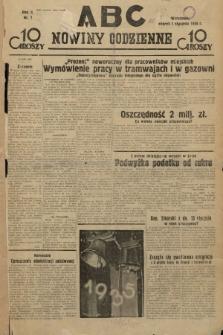 ABC : nowiny codzienne. 1935, nr1 |PDF|
