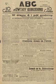 ABC : nowiny codzienne. 1935, nr[9] [ocenzurowany] |PDF|