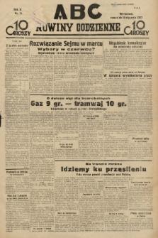 ABC : nowiny codzienne. 1935, nr11 |PDF|