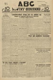 ABC : nowiny codzienne. 1935, nr13 |PDF|