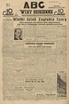 ABC : nowiny codzienne. 1935, nr15 |PDF|