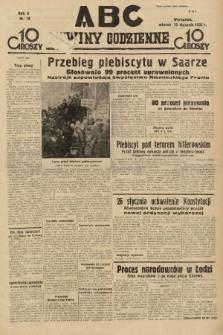 ABC : nowiny codzienne. 1935, nr16  PDF 