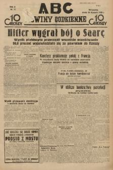 ABC : nowiny codzienne. 1935, nr17 |PDF|