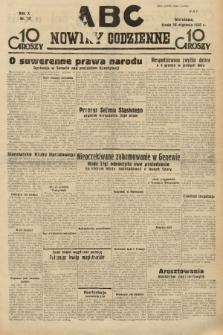 ABC : nowiny codzienne. 1935, nr[18] |PDF|