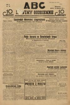 ABC : nowiny codzienne. 1935, nr20 |PDF|