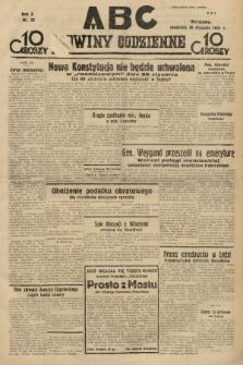 ABC : nowiny codzienne. 1935, nr22 |PDF|