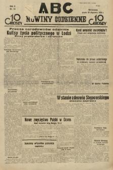 ABC : nowiny codzienne. 1935, nr25  PDF 