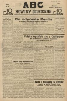 ABC : nowiny codzienne. 1935, nr39 |PDF|
