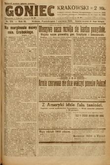 Goniec Krakowski. 1920, nr154