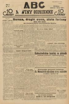 ABC : nowiny codzienne. 1935, nr41 |PDF|