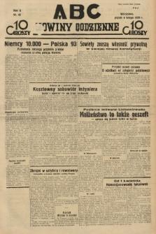 ABC : nowiny codzienne. 1935, nr42 [ocenzurowany] |PDF|