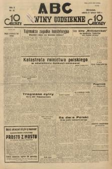 ABC : nowiny codzienne. 1935, nr43 |PDF|