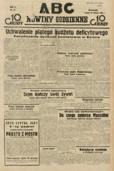 ABC : nowiny codzienne. 1935, nr47 |PDF|