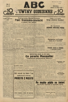ABC : nowiny codzienne. 1935, nr50 |PDF|