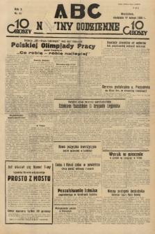 ABC : nowiny codzienne. 1935, nr51 |PDF|