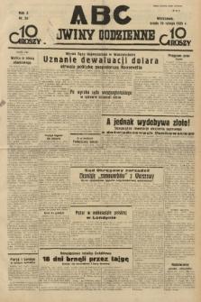 ABC : nowiny codzienne. 1935, nr54 |PDF|