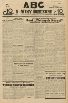 ABC : nowiny codzienne. 1935, nr58 |PDF|