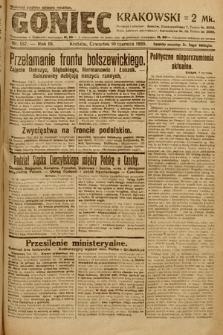 Goniec Krakowski. 1920, nr157