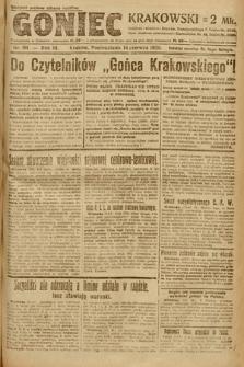 Goniec Krakowski. 1920, nr161