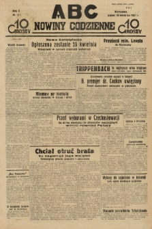 ABC : nowiny codzienne. 1935, nr114 |PDF|