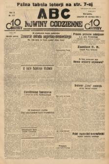ABC : nowiny codzienne. 1935, nr174 |PDF|