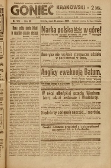 Goniec Krakowski. 1920, nr169