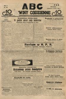 ABC : nowiny codzienne. 1935, nr204 |PDF|