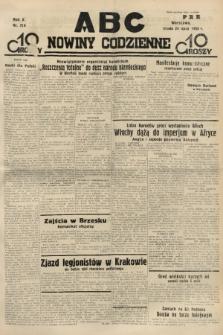 ABC : nowiny codzienne. 1935, nr210 |PDF|