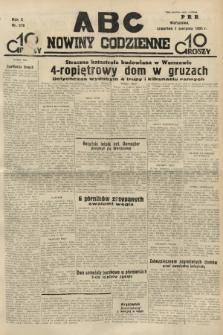 ABC : nowiny codzienne. 1935, nr218 |PDF|
