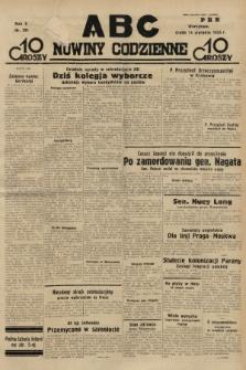 ABC : nowiny codzienne. 1935, nr231 |PDF|