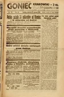 Goniec Krakowski. 1920, nr173