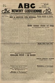 ABC : nowiny codzienne. 1935, nr245  PDF 