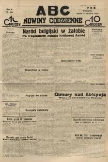 ABC : nowiny codzienne. 1935, nr248 |PDF|